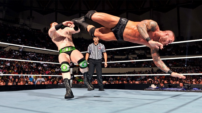 Neither man gave an inch in tonight's main event as we are just days away from Money in the Bank. (Courtesy of WWE)