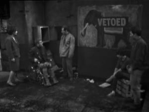 The survivors' hideout.