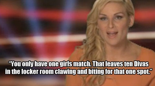 Natalya - the veteran Diva of the show