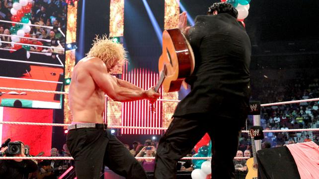 Dolph Ziggler assaults Ricardo Rodriguez on Smackdown