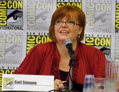 The extremely talented Gail Simone.