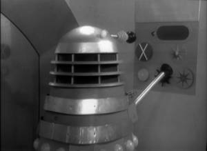 Daleks use little turn-dial mechanisms to open doors, just like R2-D2 does in Star Wars