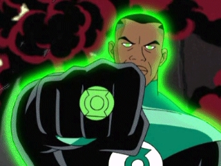 The iconic DCAU version of John Stewart