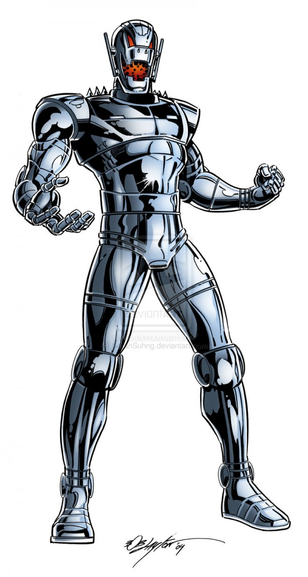Ultron, for those who aren't familiar with the character. Trust us, he's great.