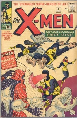 Stan Lee's initial X-Men lineup.