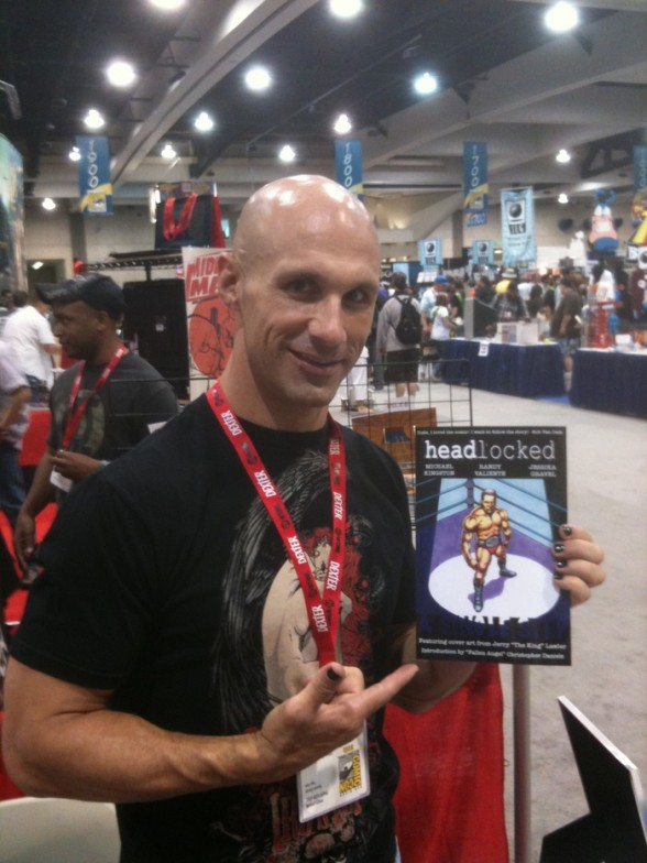 Impact Wrestling superstar Christopher Daniels, who contributes a Kickstarter-exclusive Headlocked short story.