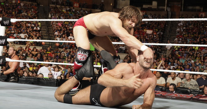 Cesaro and Daniel Bryan each had a lot of awesome matches this year, so far.