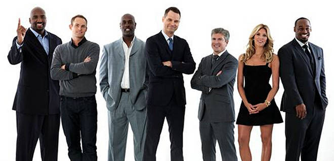 The crew for Fox Sports Live, which will debut on August 17.