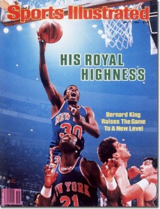 Bernard King on the cover of Sports Illustrated.