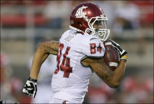 Mike Leach will depend on Gabe Marks to to take a big step forward in the air raid offense.