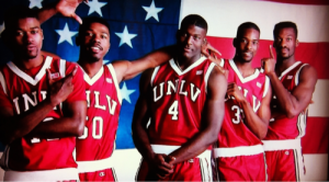 The talented UNLV Runnin' Rebels of 1990 and 1991.