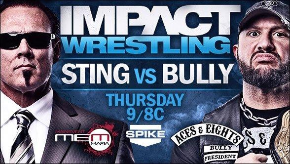 Hulk Hogan is putting Bully Ray through the wringer starting next week again the MEM's top guy. (Courtesy TNA Wrestling)