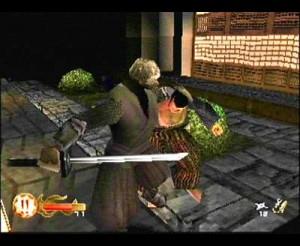Rikimaru stealth kill animation