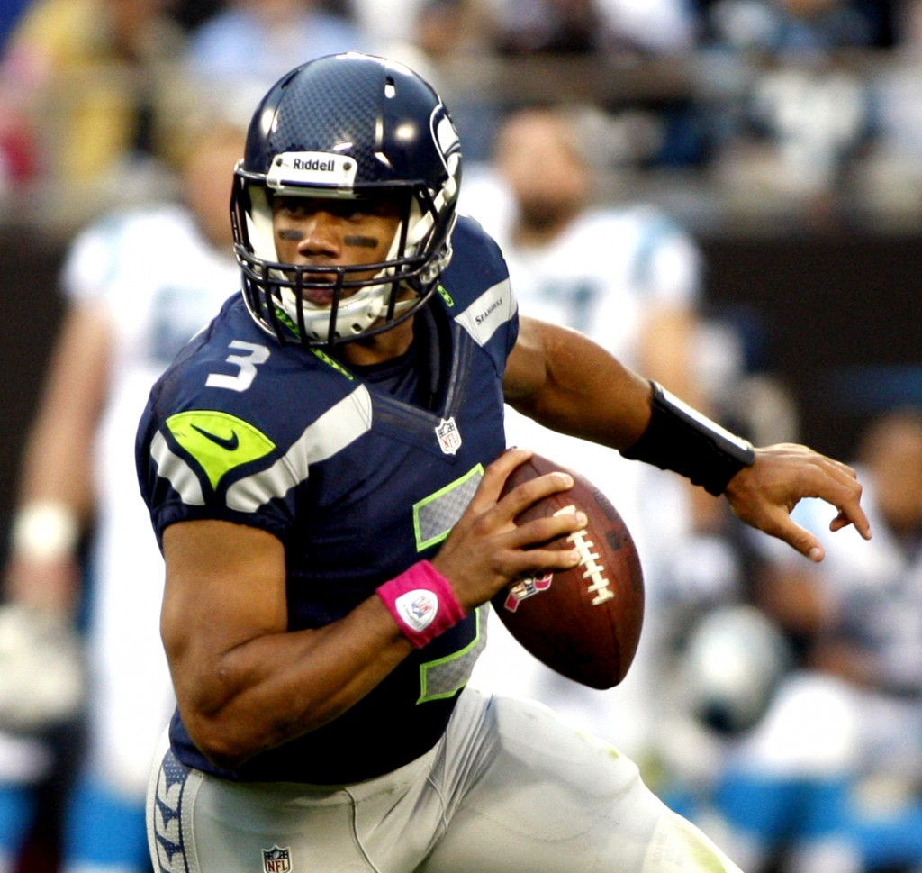 Wilson's Seahawks are off to a promising start in 2013.