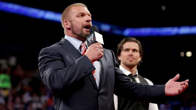 The COO of WWE gives the boys (and girls) in the back an open forum to speak out after Cody Rhodes was fired last week on Raw. Will anyone have the guts to speak their mind? (Photo Courtesy of WWE)