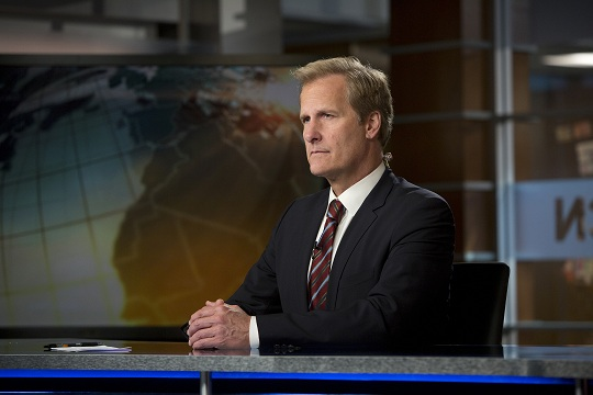 Jeff Daniels as Will McAvoy in The News Room