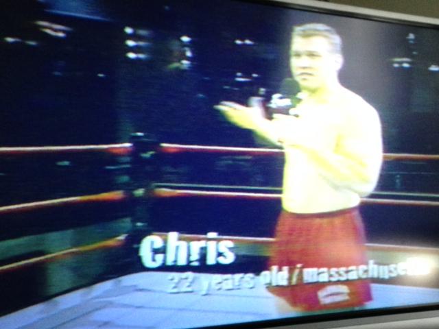 Chris, from Harvard.