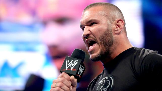 Randy Orton warns the WWE that his sadistic side has returned. [Photo Courtesy of WWE]