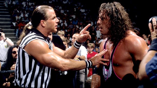 Shawn Michaels would inadvertently cost Undertaker is WWF Title