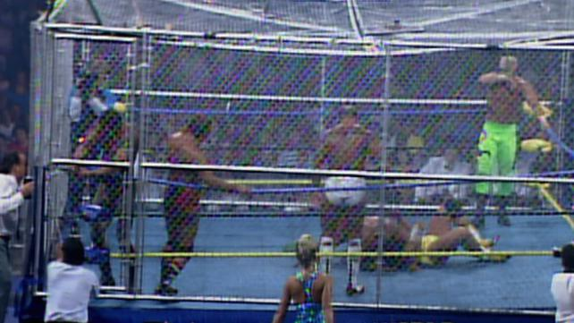 NWA and WCW would use their enclosed cage for War Games