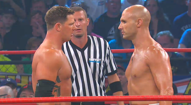 AJ Styles and Christopher Daniels