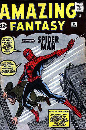The original Spider-Man origin story