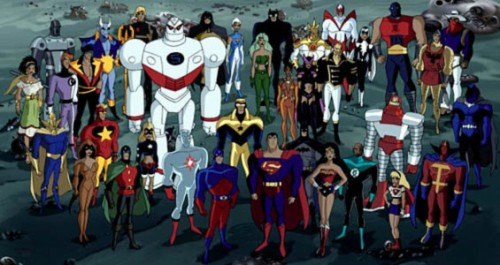 Both the DC animated universe and the Ultimate Marvel universe sought to appeal to both children and adults.