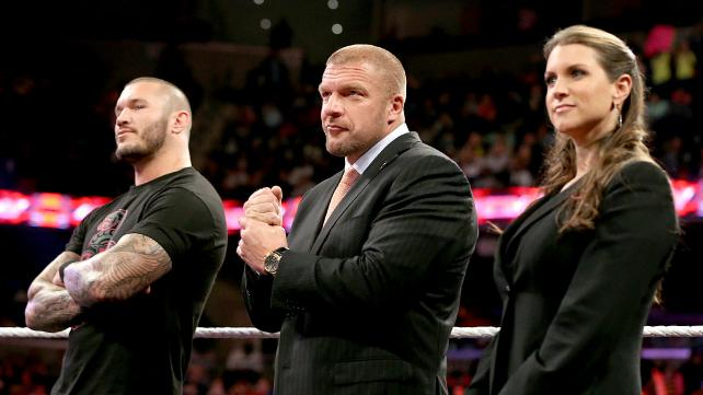 Will the Authority get what they want Sunday in Miami? (Courtesy WWE)