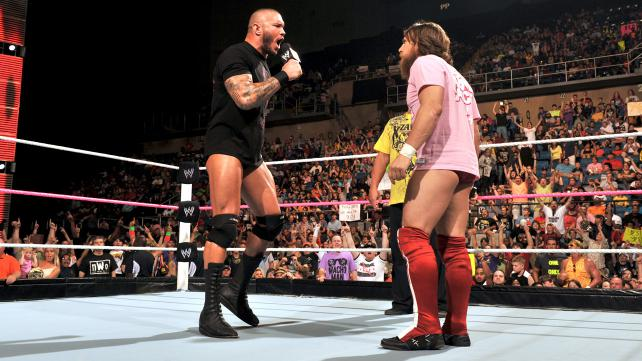 Randy Orton and Daniel Bryan go face to face before Battleground. (Courtesy WWE)