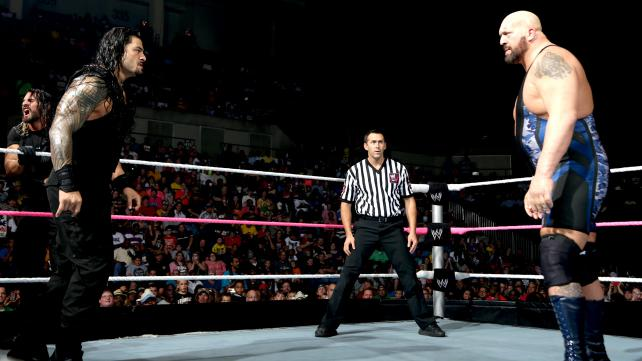 Find out how the Big Show fared in his handicap match against the Shield and Randy Orton. (Photo Courtesy of WWE)