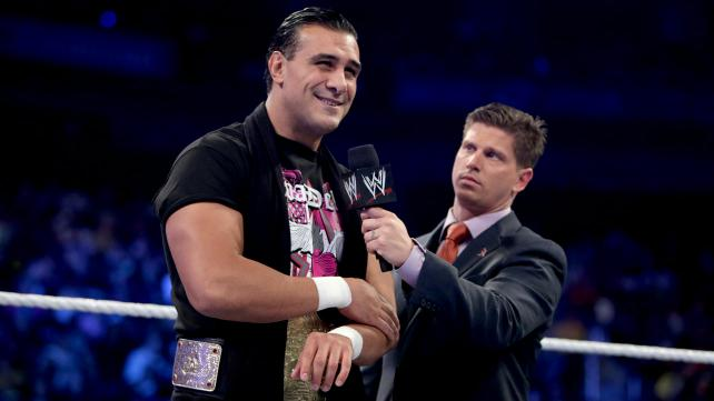 Nine days before 'Hell in a Cell', World Heavyweight Champion Alberto Del Rio looks pretty confident as he prepares for his match against John Cena. And why shouldn't he be? [Photo Courtesy of WWE]