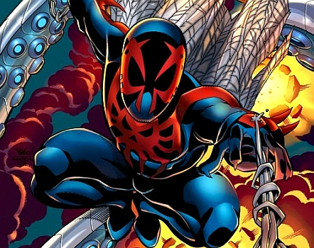 One of the other alternate takes on Spider-Man, Spider-Man 2099.
