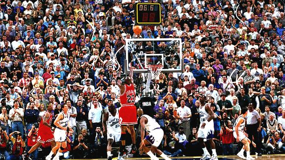 If the 1998 Finals were played next year, Jordan's last shot as a Bull would have never happened in Utah.