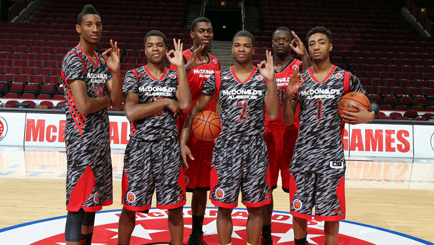 Kentucky's latest crop of All-American freshmen, considered by many the greatest recruiting class in history.
