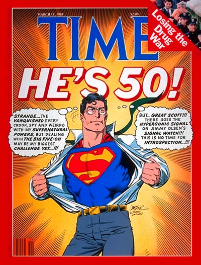 the life of superman the essay