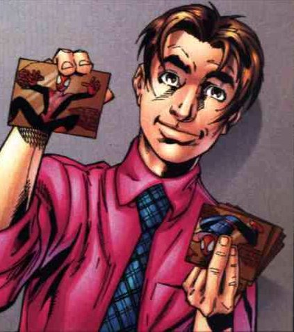 The star of the series, Ultimate Peter Parker