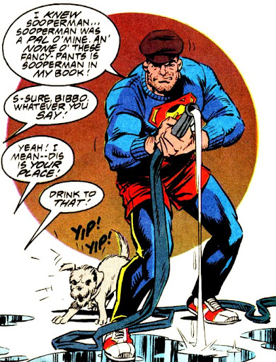Bibbo Bibowski was just one of many great supporting characters in the Superman books.