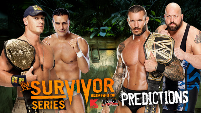 Predictions on your two main event title matches?  They're right here. (Courtesy WWE)