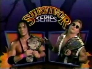 Survivor Series 1992 Hart Michaels