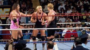 Survivor Series 1993 Hart Family Explodes
