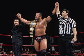 Survivor Series 1998 The Rock wins the title