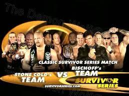 Survivor Series 2003 Orton part of Team Bischoff