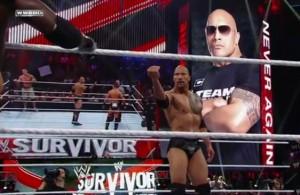 Survivor Series 2011 The Rock Returns
