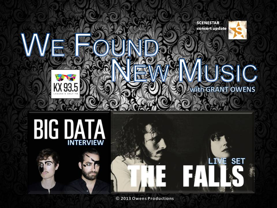THE FALLS LIVE SET / BIG DATA INTERVIEW