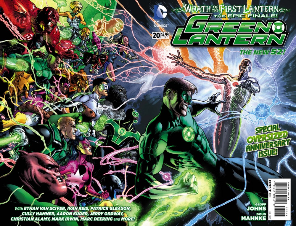 Green Lantern #20 remains our favorite comic book of 2013.