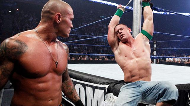 Cena and Orton from Breaking Point 2009