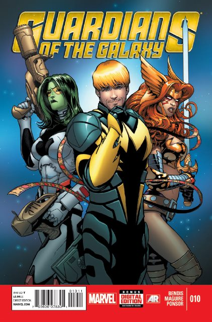 Guardians of the Galaxy #10 cover