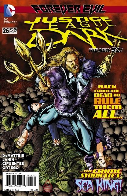 Justice League Dark #26 cover