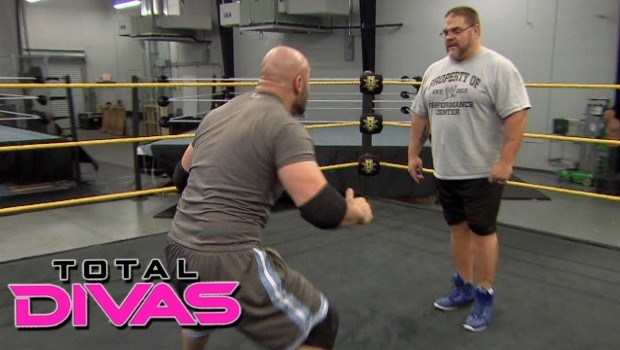 Vinny gets a free lesson and ass-kicking from Bill DeMott