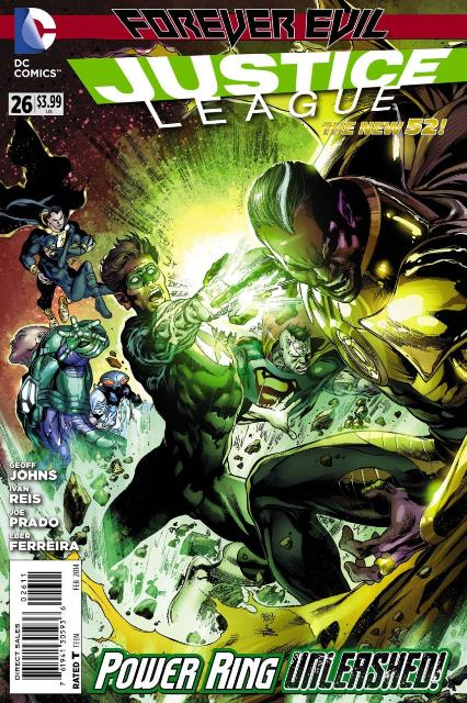 Justice League #26 cover